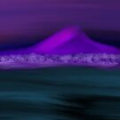 Nightfall on the Lonely Mountain by InspirEscape