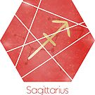 Sagittarius - Zodiac sign by Cynthia Haller