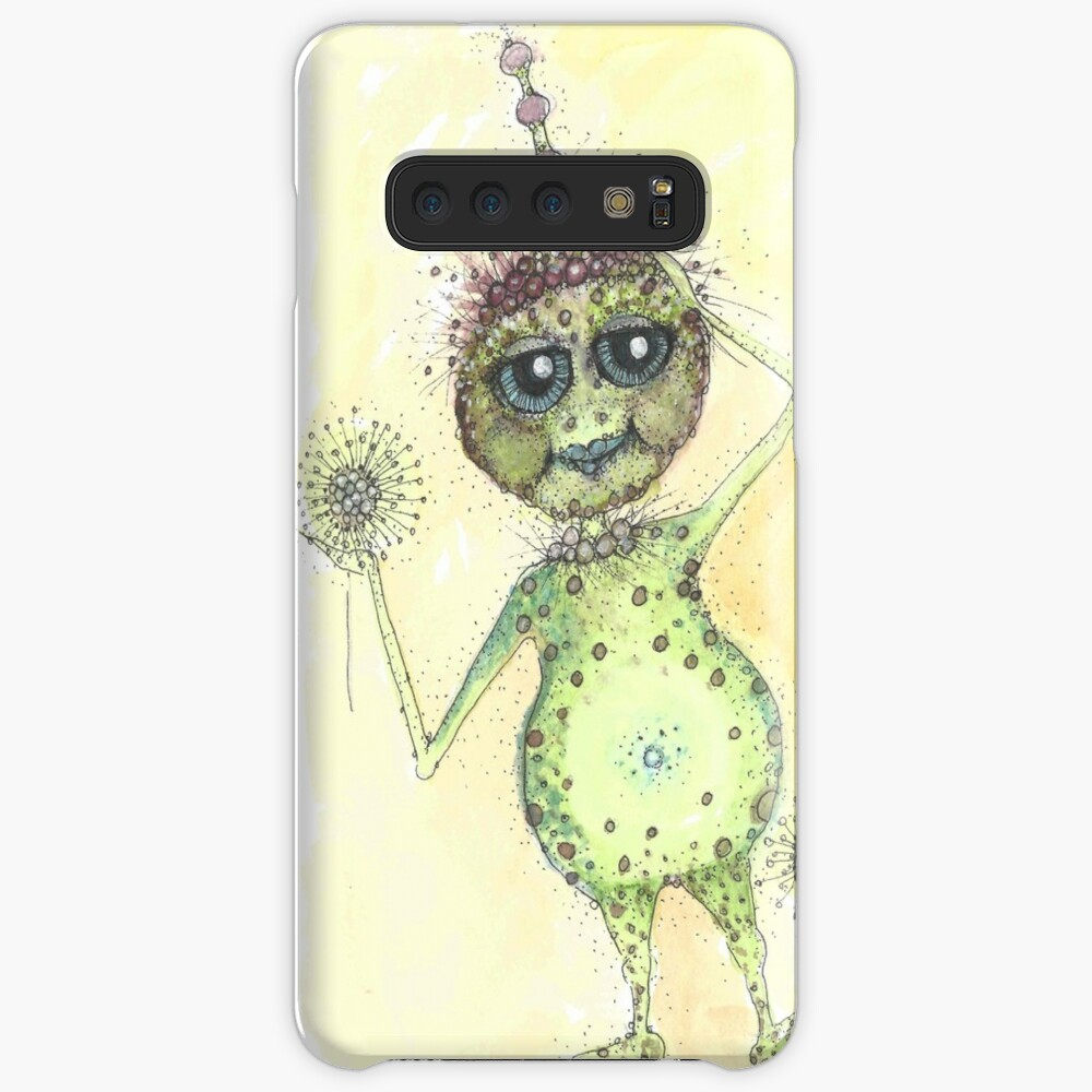 There's an Alien in my garden!  Case & Skin for Samsung Galaxy