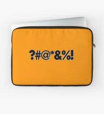 Q*Bert Parody ?#@*&%!  Laptop Sleeve