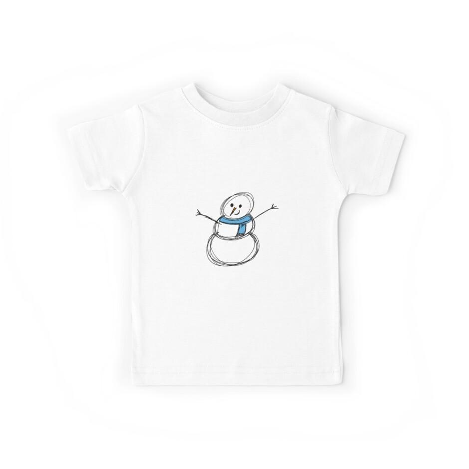 snowman by babibell