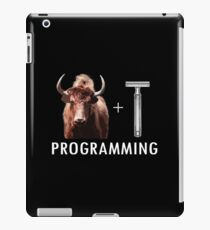 Programming = Yak Shaving iPad Case/Skin