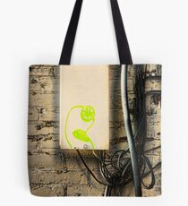 Alice Sees into the Garden Tote Bag