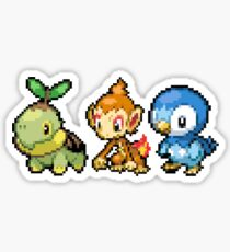 Sinnoh Region Pixel Starter Sticker