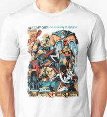 HANNA-BARBERA SUPER HEROES OLD Unisex T-Shirt
