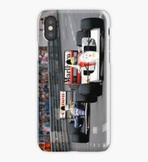 Ayrton Senna vs Nigel Mansell at Monaco '92 - Phone cases iPhone Case/Skin