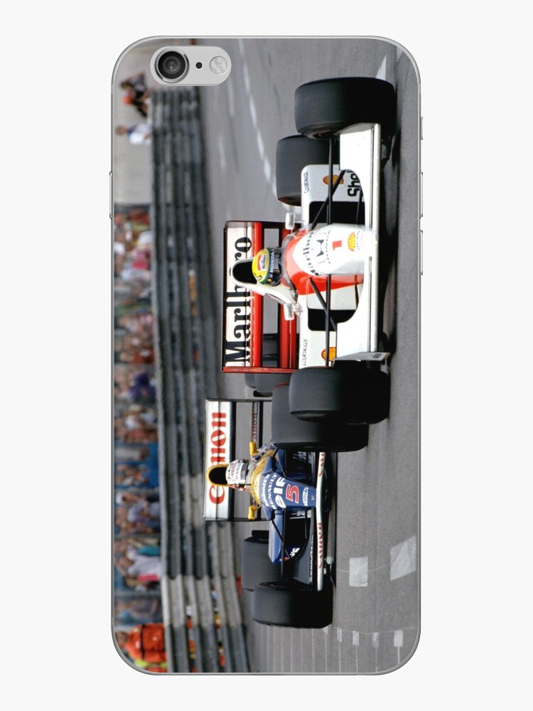 Ayrton Senna vs Nigel Mansell in Monaco '92 - Telefon Fällen von DazImolaWOC
