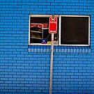 Blue Brick in Byron Bay, Australia by johnnabrynn
