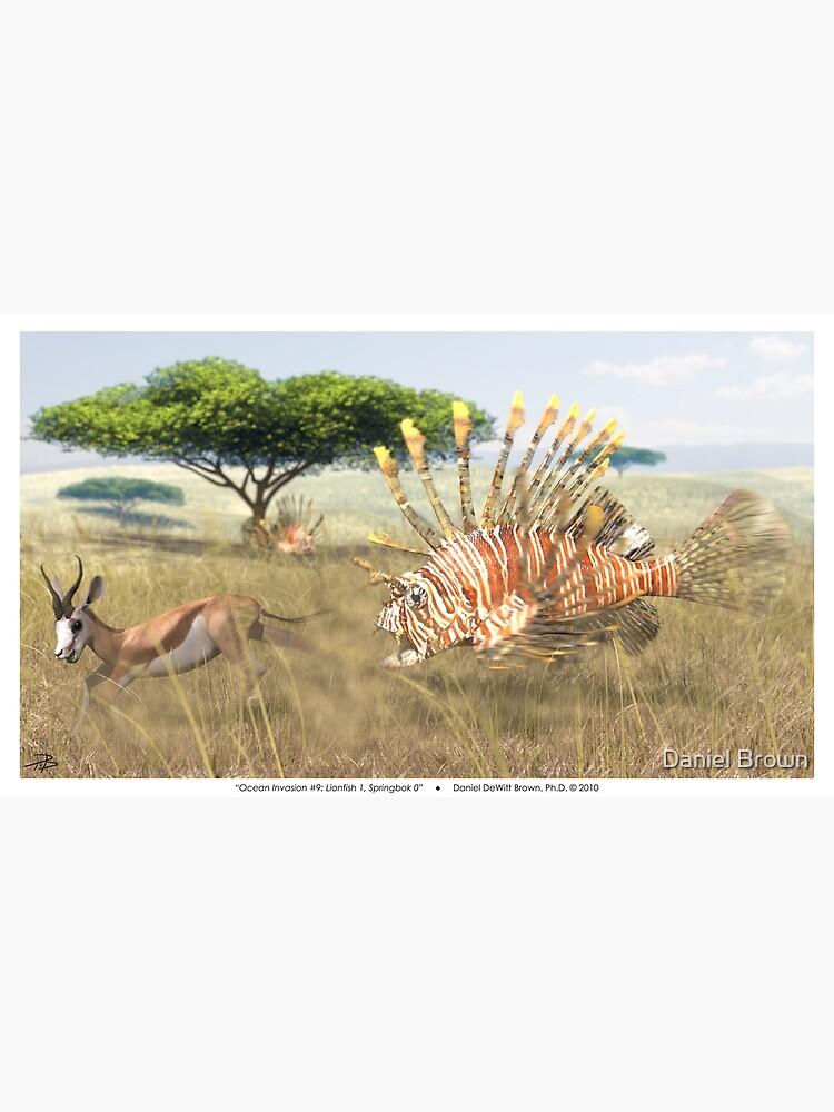 Ocean Invasion #9: Lionfish 1, Springbok 0 by LaughingMantis