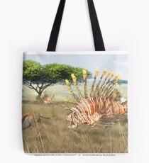 Ocean Invasion #9: Lionfish 1, Springbok 0 Tote Bag