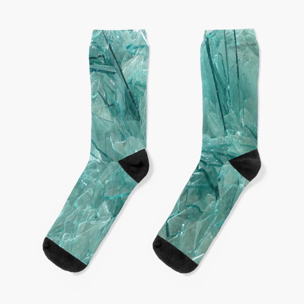 Broken Glass Socks