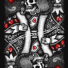 «Blackjack Rey Muerto» de Garyck Arntzen