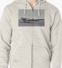BEA DC-3 Dakota III G-AHCX Zipped Hoodie