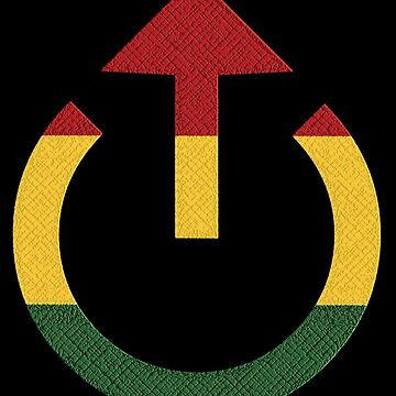 Loud Reggae Music Symbol  by matanga