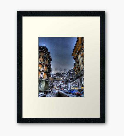 Engleberg - Terrace Views Framed Print
