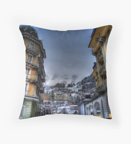 Engleberg - Terrace Views Throw Pillow