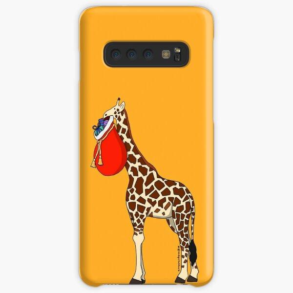 Christmas Giraffe Delivery Samsung Galaxy Snap Case