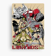 LEGENDS OF THE 80´S Canvas Print