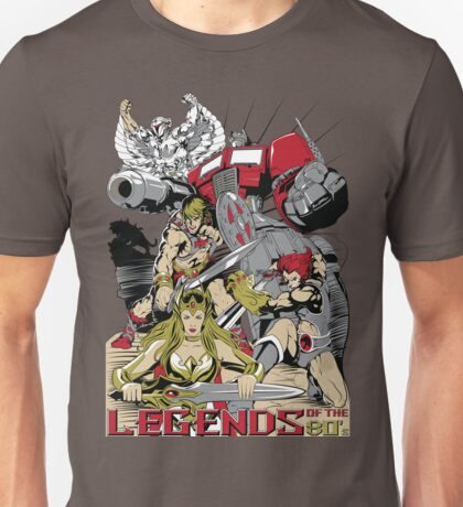 LEGENDS OF THE 80´S Unisex T-Shirt