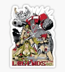 LEGENDS OF THE 80´S Sticker