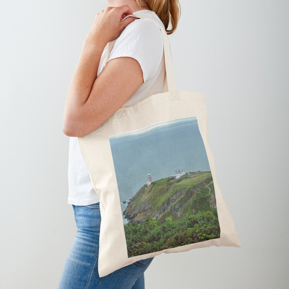 Howth Lighthouse - Ireland Tote Bag
