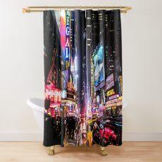 New York City Night Shower Curtain