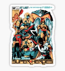 HANNA-BARBERA SUPER HEROES Sticker