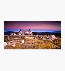 Sunrise at Craigs Hut Photographic Print