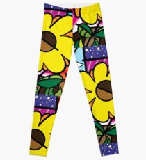 Mom Sunflower Leggings