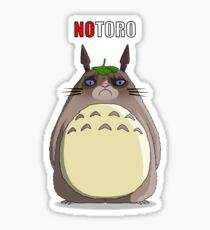 Notoro (with text) Sticker