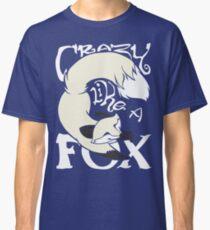 Crazy Like A Fox (White) Classic T-Shirt