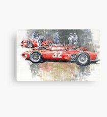 Ferrari 156 Italian GP 1961 Metal Print