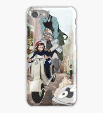 Kekkai Sensen - Leonardo, Zapp and Zed on vespa iPhone Case/Skin