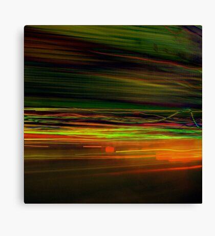 Fast Stripes Canvas Print