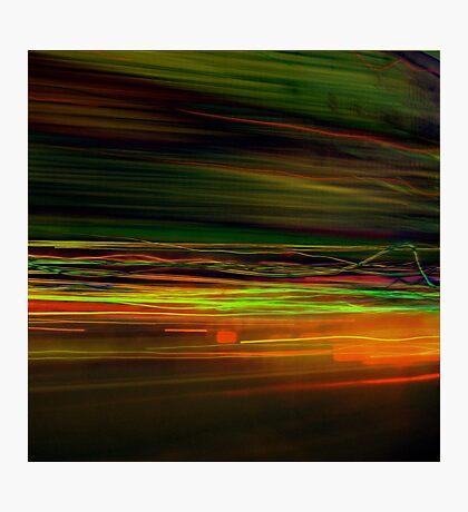 Fast Stripes Photographic Print