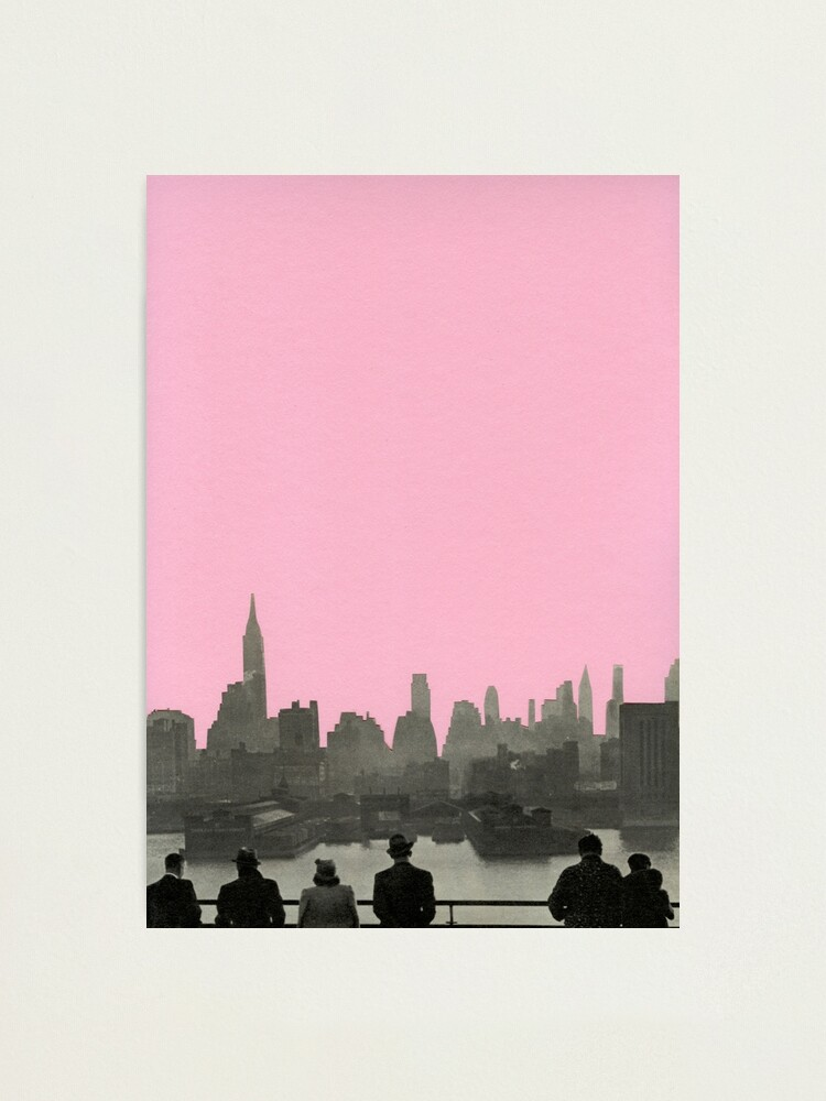 Alternate view of New York Nights Photographic Print