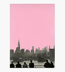 New York Nächte Fotodruck