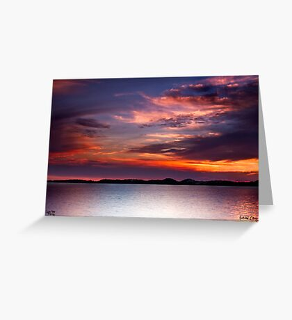 Colours of the Sun Greeting Card