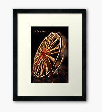 Go For A Spin Framed Print