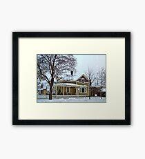 Snowstorm 2 Framed Print