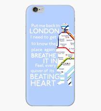 London Underground Map Sherlock iPhone Case
