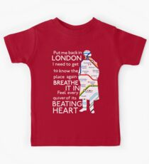 London Underground Map Sherlock Kids Clothes