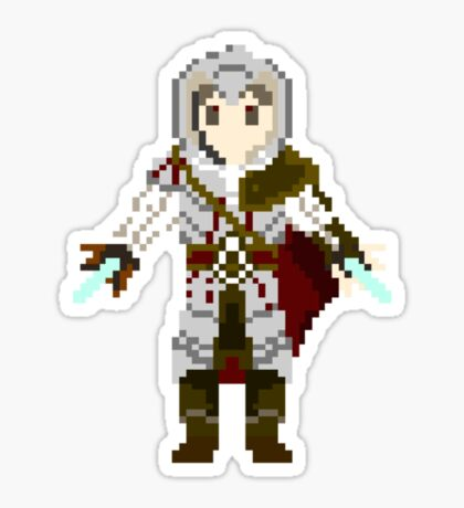 8-Bit Ezio Sticker