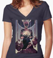 Götterdämmerung; The Twilight of the Gods.  Women's Fitted V-Neck T-Shirt