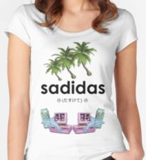 Sadidas Women's Fitted Scoop T-Shirt