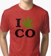 I Marijuana Colorado Tri-blend T-Shirt