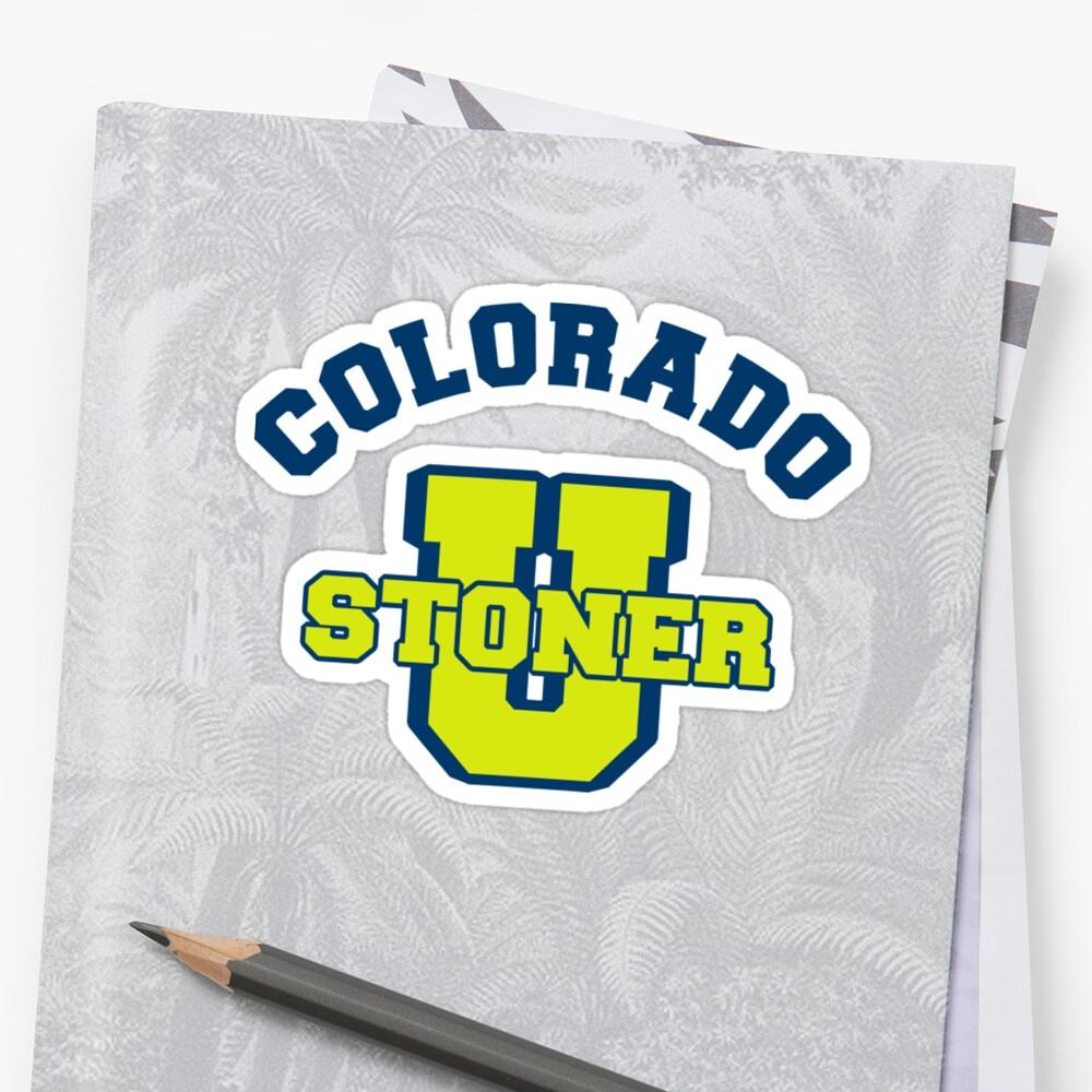 Colorado Cannabis by MarijuanaTshirt