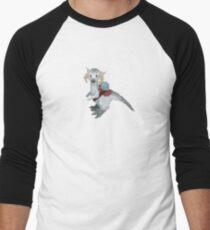 Pixel / 8-bit Star Wars Baby Tauntaun Ram Men's Baseball ¾ T-Shirt