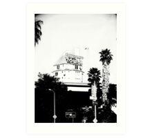 Hollywoods Hallow  Art Print