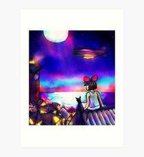 "Kiki's Delivery Service ""Our own Inspiration"" Art Print"